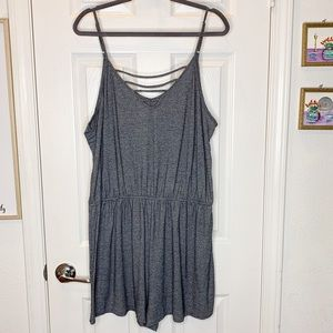Woman's romper size XXL 2X mossimo one piece short